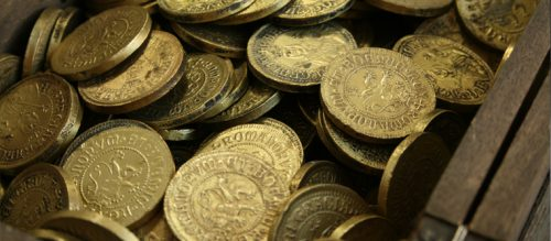Las monedas usadas en las películas